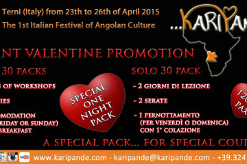 Saint Valentine Promotion!