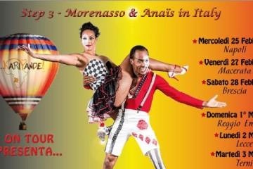 Tappe del Karipande on Tour… Step 3 – Morenasso & Anaïs