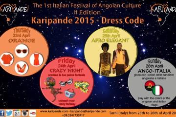 DRESS CODE KARIPANDE 2015