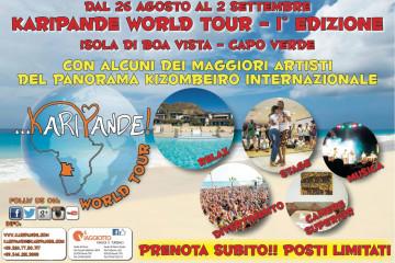 KARIPANDE WORLD TOUR 1° EDIZIONE (Boa Vista – Capo Verde)