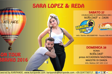 KARIPANDE ON TOUR con SARA LOPEZ & REDA