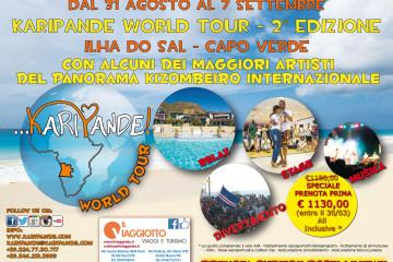 KARIPANDE WORLD TOUR – 2° EDIZIONE (ILHA DO SAL – CAPO VERDE)