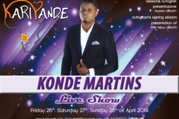KARIPANDE 2019 presents KONDE MARTINS